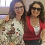 Rabbi with Reeva Forman