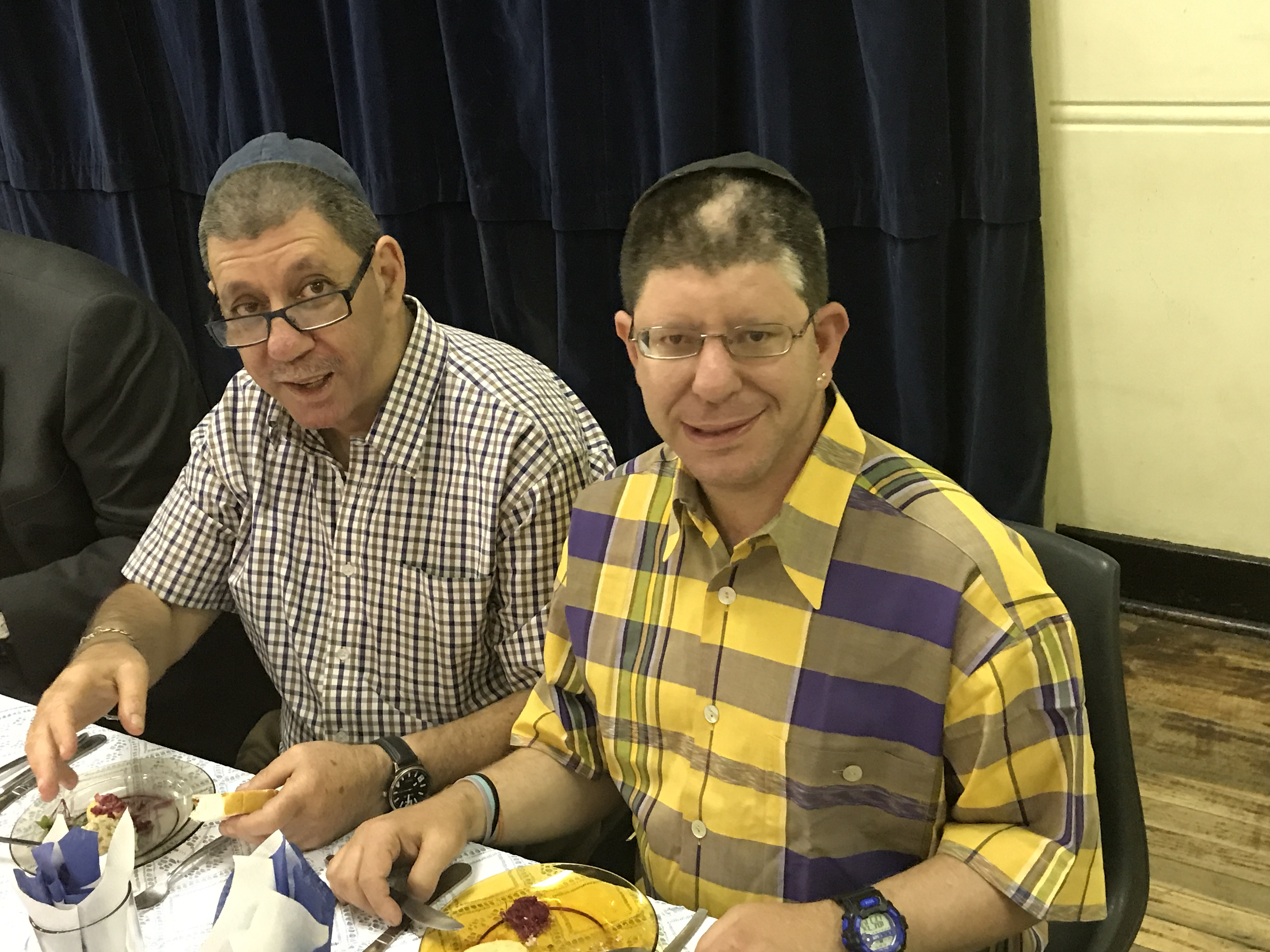 Peter and Harold Joffe