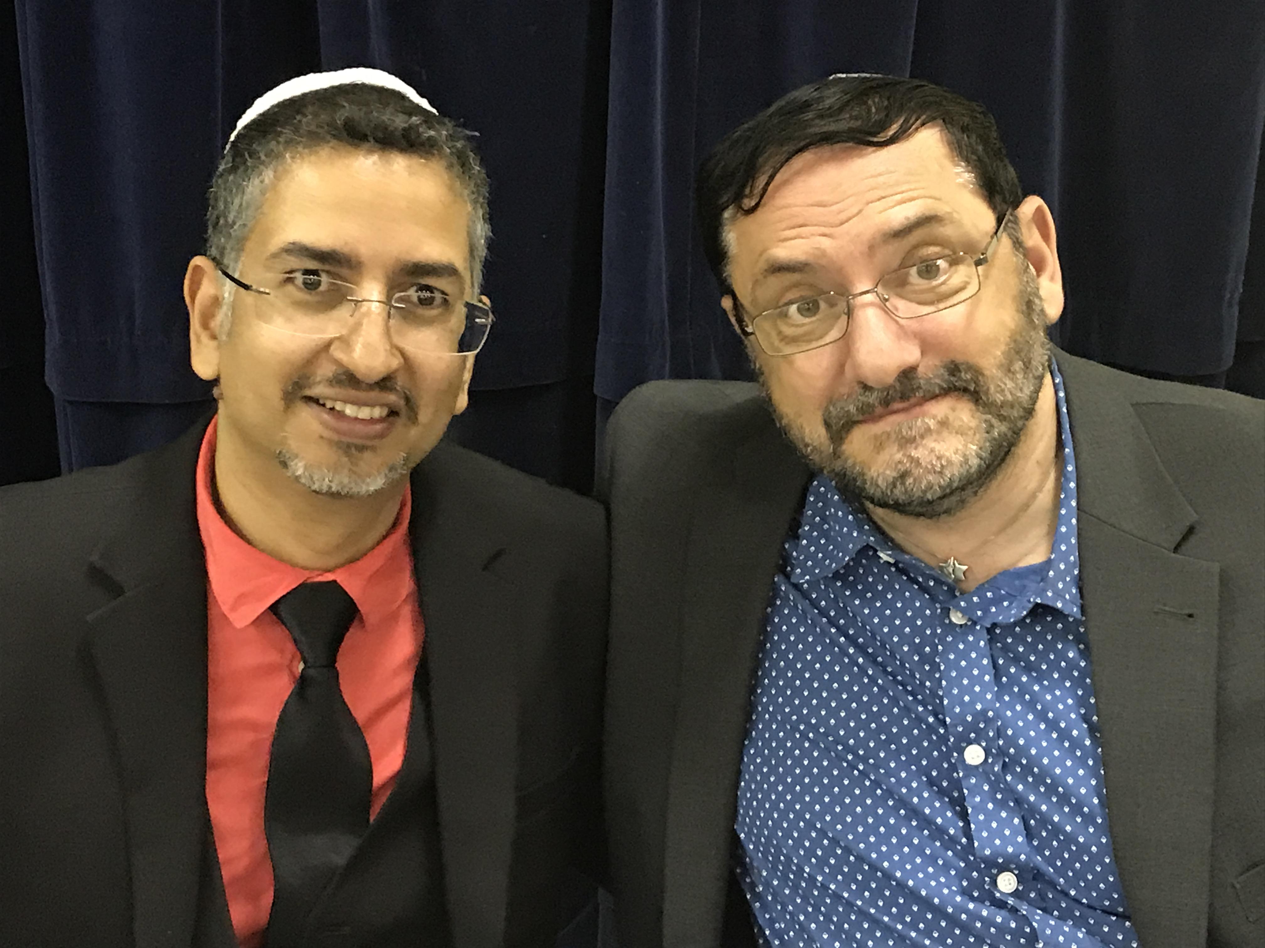 Rabbi Adrian and Chayim Schell