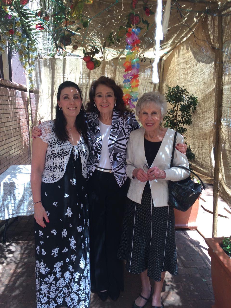 Sarona, Reeva and Ruth